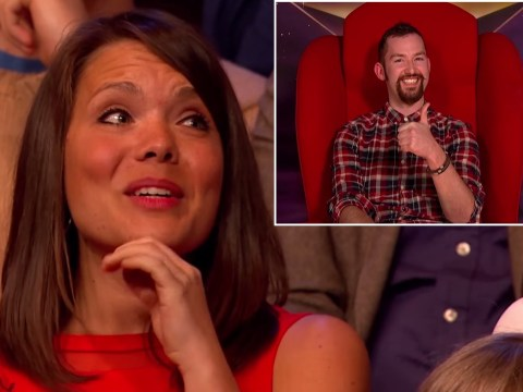 Girl turns down date to watch The Graham Norton Show. Would-be date turns up on show. Awkward…