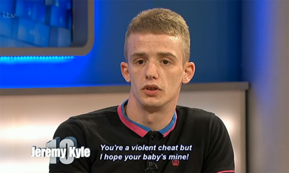 Jeremy Kyle guest admits jumping off a third floor balcony – to escape his violent girlfriend