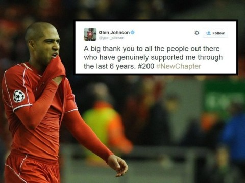 Liverpool's Glen Johnson 'confirms he's making a transfer away with revealing tweet'