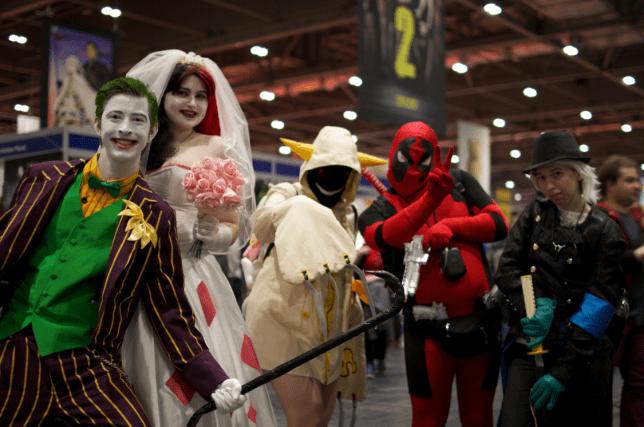 Joker Harley Quinn Toakaka and Deadpool