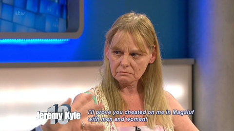 Is this the worst couple ever on Jeremy Kyle? Boyfriend claims he cheated in his sleep, both fail lie detector tests