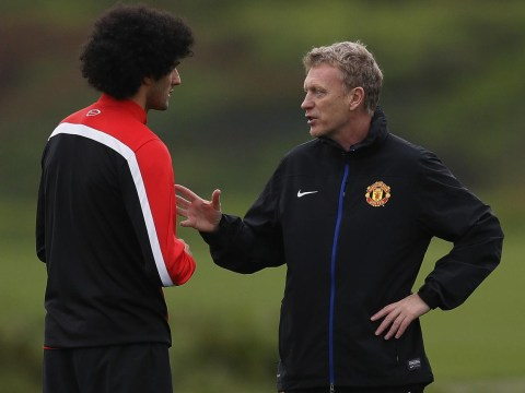 Marouane Fellaini admits he cried when Manchester United sacked David Moyes