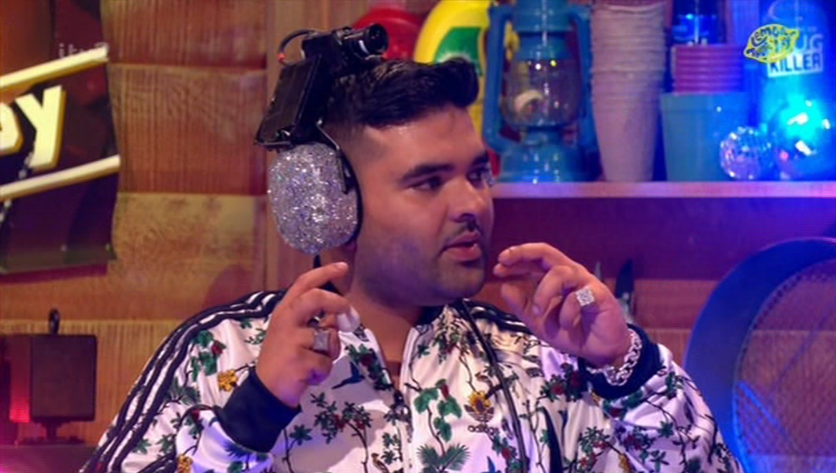 Naughty Boy had to guess a One Direction song on Celebrity Juice and it was soooo awkward