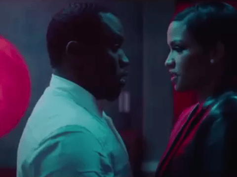 P Diddy has sex in new fragrance advert, it gets banned