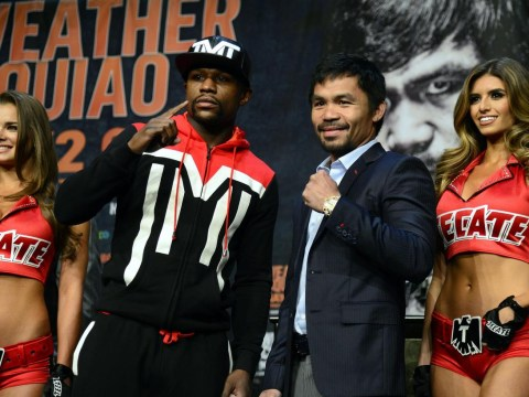 Manny Pacquiao can put an end to the crass act of Floyd Mayweather