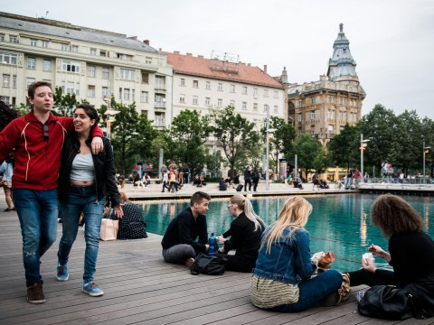 Grab a flight to Budapest where drinks cost half the price