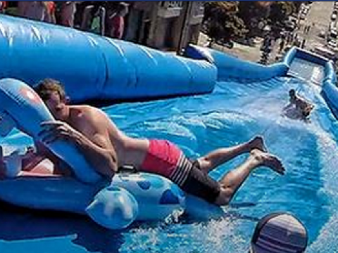 Slip & Slide is 100 per cent coming to London this summer
