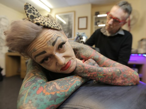 Rockabilly reckons Betty Boop tattoos are the best way to get over a divorce…