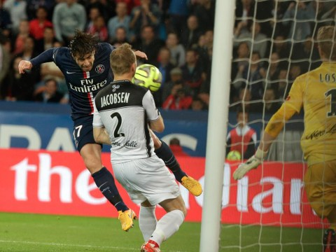 PSG produce some brilliant build-up play to help Maxwell score in club's 6-0 thrashing of Guingamp