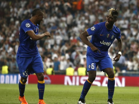 Juventus stars Paul Pogba and Patrice Evra caught on camera pulling off horrific dance moves