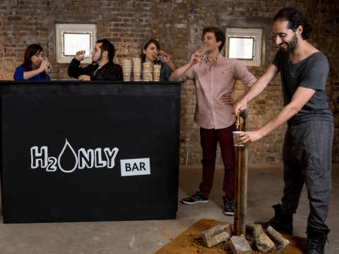 There's a bar in London that only sells tap water, true story