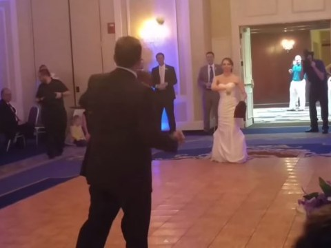 Hero dad plans the perfect wedding dance with his tomboy daughter