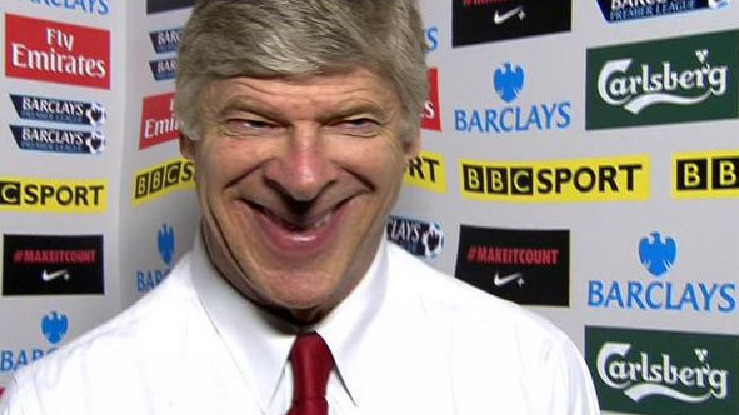 Arsenal boss Arsene Wenger reveals that he does actually like spending money
