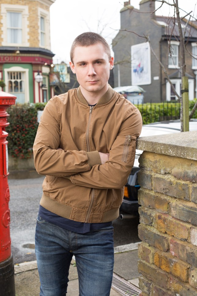 WARNING: Embargoed for publication until 15/04/2014 - Programme Name: EastEnders - TX: n/a - Episode: n/a (No. n/a) - Picture Shows: Lee Carter. Lee (DANNY-BOY HATCHARD - (C) BBC - Photographer: Jack Barnes