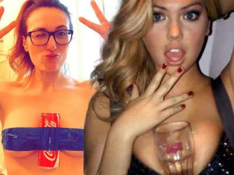 This is why women are taking selfies of bottles of Coke held between their breasts