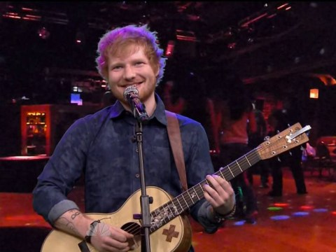 Ed Sheeran sings Iron Maiden, Limp Bizkit and Ty Dolla $ign on Jimmy Fallon
