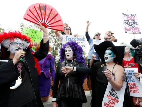 There's a drag queen protest going down at Facebook HQ over its 'Real Name' policy