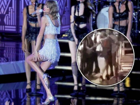 Taylor Swift grooving hard backstage before her show will make you feel better about life