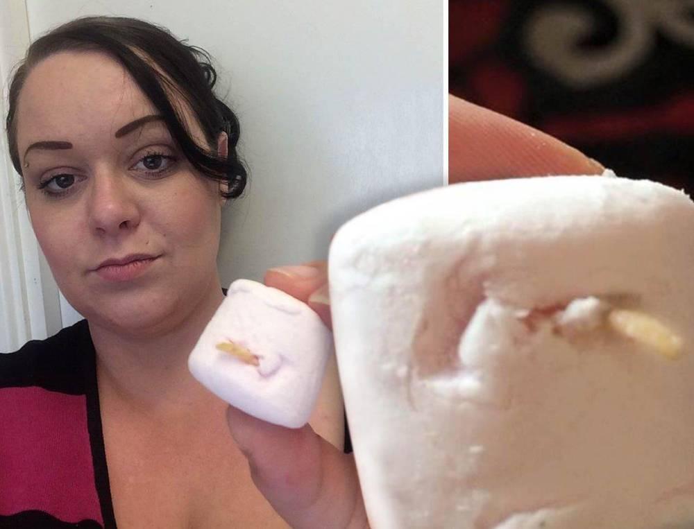 Woman almost eats a toenail found in a Tesco marshmallow