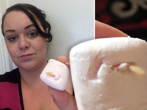 Woman almost eats a toenail found in a Tesco marshmallow