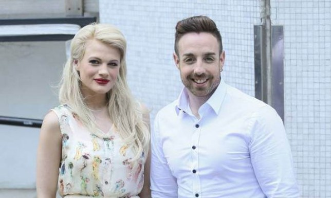 X-Factor's Stevie Ritchie and Chloe Jasmine Whichella are pictured leaving the ITV studios following a guest appearance on 'Lorraine'. <P> Pictured: Chloe Jasmine Whichella, Stevi Ritchie <B>Ref: SPL1042886  040615  </B><BR /> Picture by: Simon Earl / Splash News<BR /> </P><P> <B>Splash News and Pictures</B><BR /> Los Angeles: 310-821-2666<BR /> New York: 212-619-2666<BR /> London: 870-934-2666<BR /> photodesk@splashnews.com<BR /> </P>