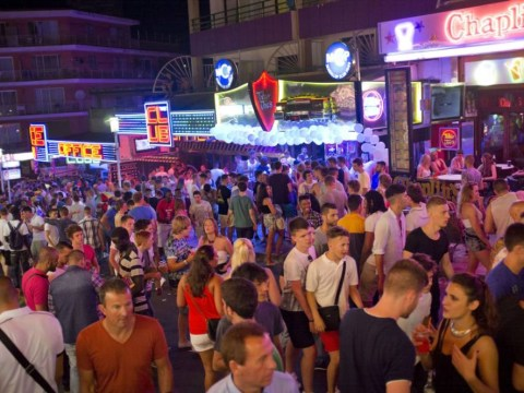 Going topless in Magaluf this summer will get you 500 euro fine