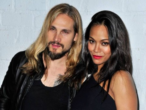 Zoe Saldana's husband has taken her last name and doesn't 'give a sheet' what you think