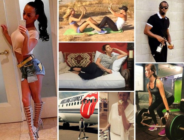 7 selfies that celebs usually take