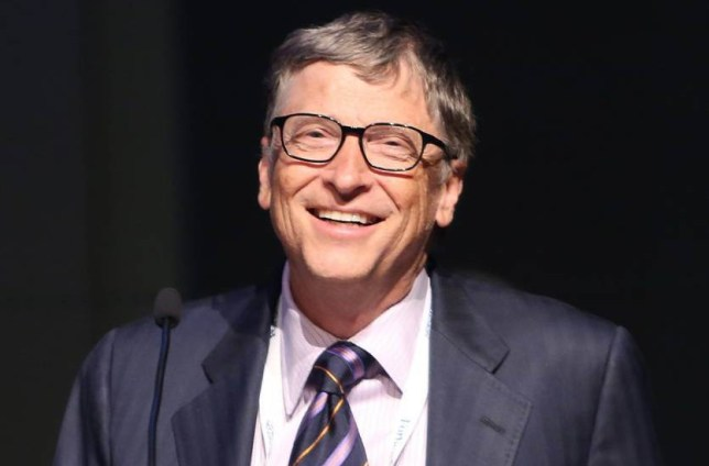 NEW YORK, NY - JUNE 03:  Bill Gates speaks at the Forbes' 2015 Philanthropy Summit Awards Dinner on June 3, 2015 in New York City.  (Photo by Monica Schipper/WireImage)