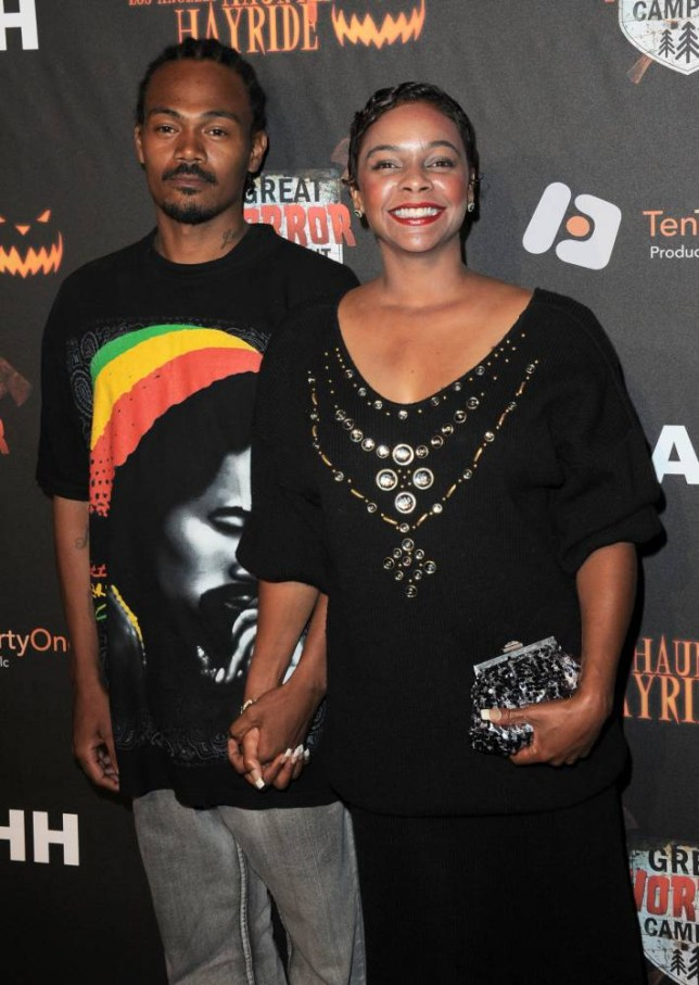Lark Voorhies and Jimmy Green