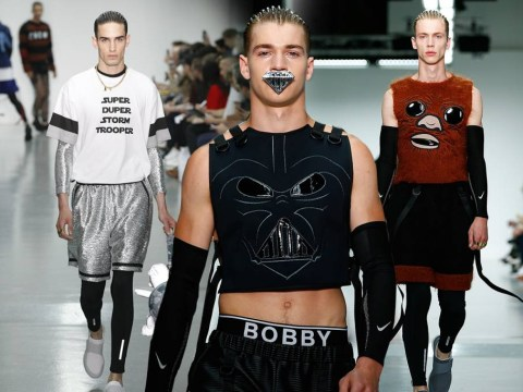 This Star Wars themed catwalk show is ridiculous