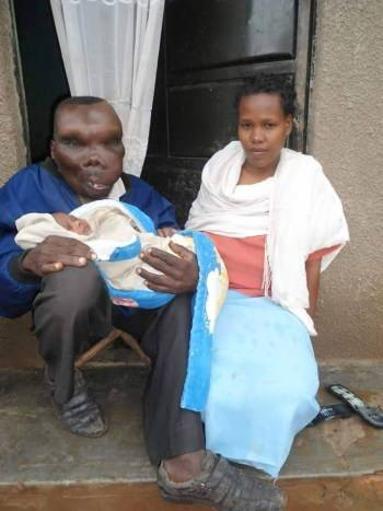 'Uganda's ugliest man' has become a father for the eighth time