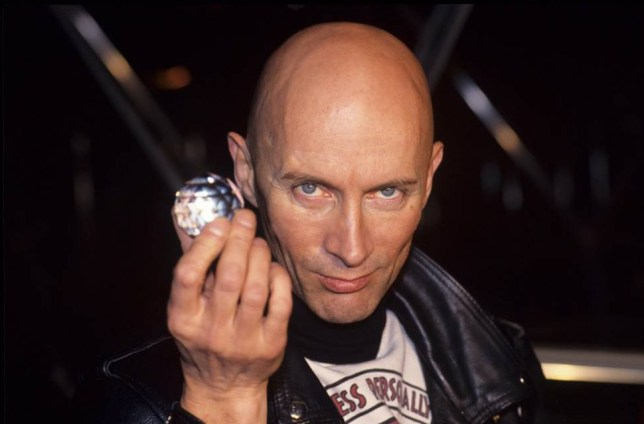 Mandatory Credit: Photo by REX Shutterstock (527254eq)  Richard O'Brien - The Crystal Maze  VARIOUS