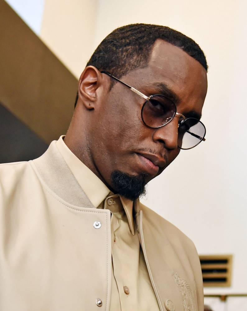 "NEW YORK, NY - MAY 06:  Sean 'Diddy Combs' attends the Sean ""Diddy"" Combs Fragrance Launch at Macy's Herald Square on May 6, 2015 in New York City.  (Photo by Ilya S. Savenok/Getty Images)"