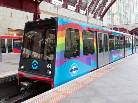 London is getting a rainbow train for Gay Pride