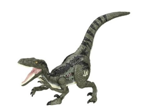 Jurassic World's female velociraptor Blue has been given an accidental sex change by toy makers
