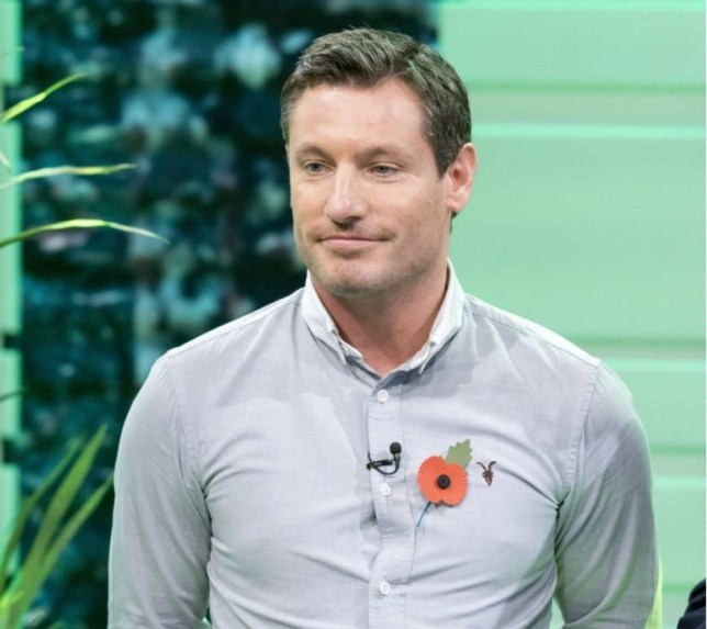 EDITORIAL USE ONLY / NO MERCHANDISING.. Mandatory Credit: Photo by S Meddle/ITV/REX Shutterstock (4240259bi).. Dean Gaffney.. 'Good Morning Britain' TV Programme, London, Britain. - 10 Nov 2014.. ..