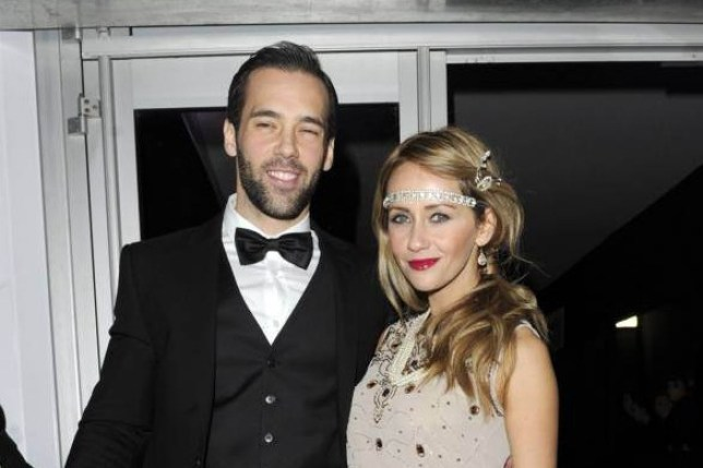 Mandatory Credit: Photo by McPix Ltd/REX Shutterstock (3385967ac) Samia Ghadie and Sylvain Longchambon Denise Welch Gatsby Ball, Manchester, Britain - 23 Nov 2013
