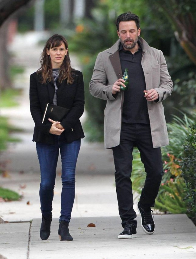 Mandatory Credit: Photo by Most Wanted/REX Shutterstock (4300899c).. Jennifer Garner and Ben Affleck.. Ben Affleck and Jennifer Garner out and about in Brentwood, Los Angeles, America - 11 Dec 2014.. The duo's chemistry came pouring out when Ben wrapped his arm around his wife, with Jen looking down and gushing while out for a walk in Brentwood. It's just the latest display of affection in what has been a picture-perfect year for the couple...