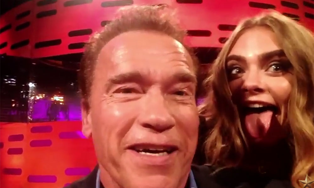 Arnold Schwarzenegger made all of Graham Norton's guests do impersonations of him. And it was perfect