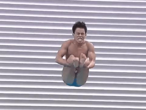 Filipino diving pair become internet sensations after hilarious dive fails