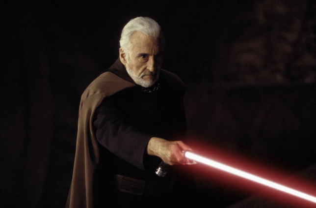 Star Wars: Christopher Lee