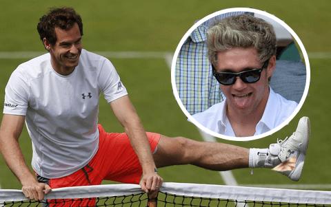 So Niall Horan isn't backing Andy Murray to win Wimbledon