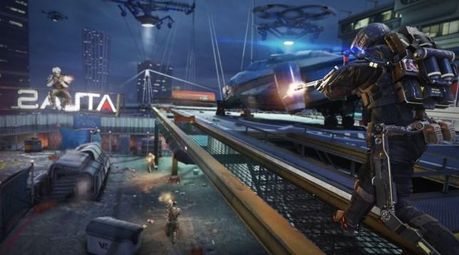 Call Of Duty: Advanced Warfare – Supremacy DLC review – grappling Call Of Duty Advanced Warfare Dlc Map Packs on