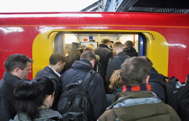 Commuter Trains Are Carrying 40 Per Cent Above Their Passeneger Capacity Dan Kitwood/Getty Images