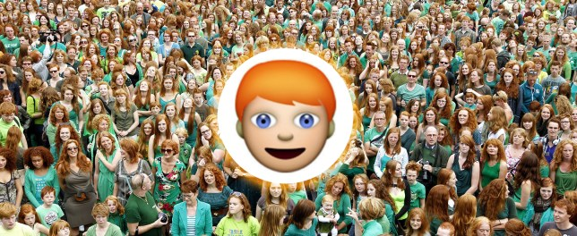 CKYW1W epa03380041 People with red hair from all over the world gather on Redhead Day, or 'Roodharigendag' in Dutch, in the Dutch city of Breda, The Netherlands, 02 September 2012. The Redhead Day is celebrated annually at the old Dutch city on the first weekend in September. It offers cultural events, music, a picnic, a fashion show and art exhibitions from and for the red haired community.  EPA/BAS CZERWINSKI