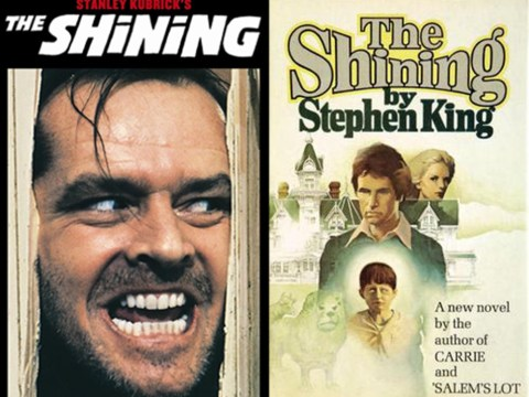 There are so many differences between Stephen King's The Shining and Stanley Kubrick's film