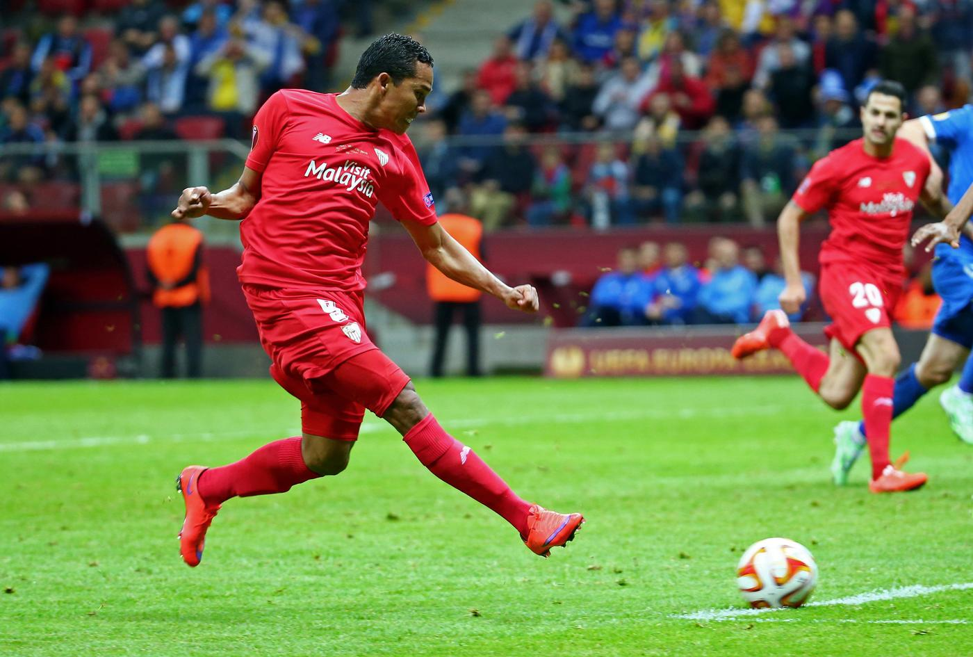 Liverpool 'set to launch £21.5m transfer bid for Carlos Bacca'