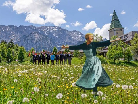 World leaders look like they should be in The Sound of Music