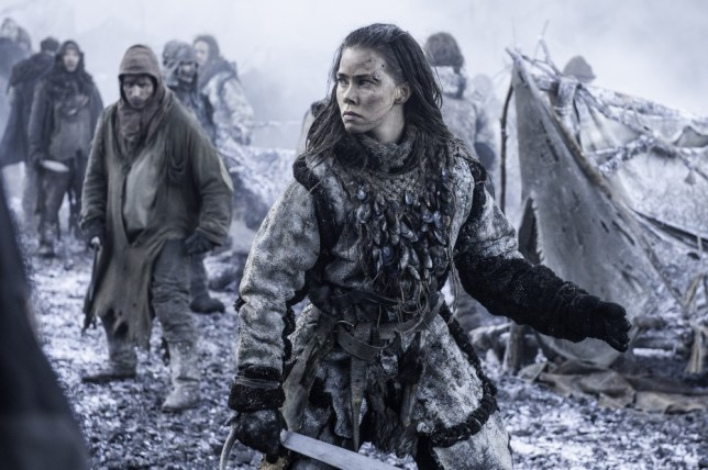 Games of Thrones, season 5 Episode 8 Hardhome, Hjort Sorenson, Birgitte as Karsi